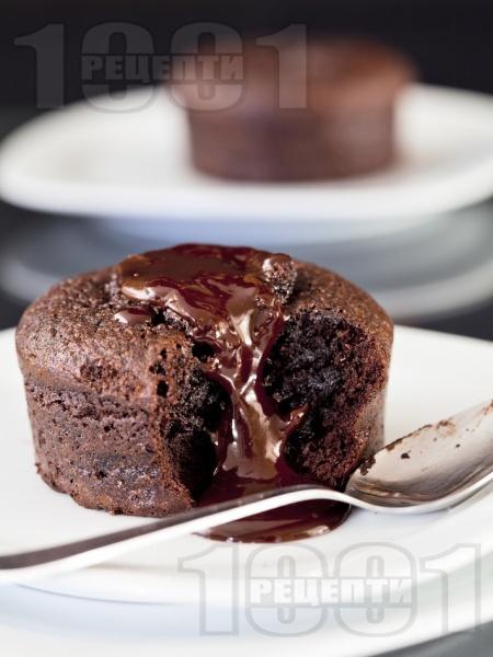 Шоколадово суфле - снимка на рецептата
